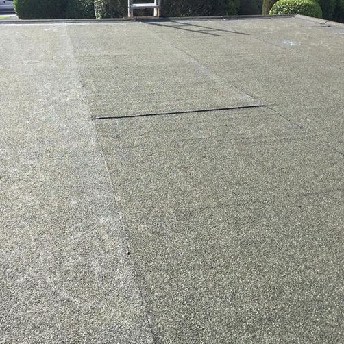 finished flat roof installation by d richards roofing