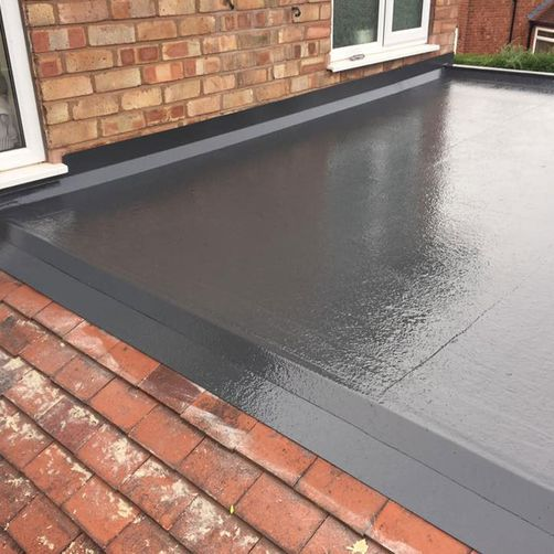 flat roof installation by d richards roofing