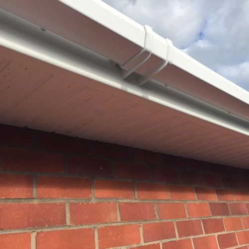 gutter installation by d richards roofing